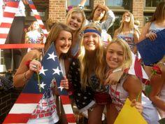 Delta Delta Delta at University of Washington #DeltaDeltaDelta #TriDelta #BidDay #America #sorority #UW