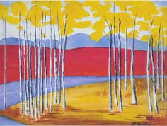 CB Woodling -- Aspen Fall