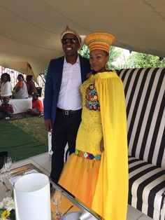 Me and Mine at our membeso African Traditional Wedding Dress, Traditional Wedding Attire, African Wedding Dress, African Weddings, African Print Fashion, African Prints, African Fashion Dresses, Ethnic Fashion, African Love