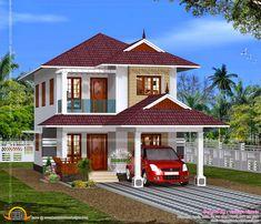 december kerala home design floor plans bedroom modern sq ft villa kerala home design floor plans