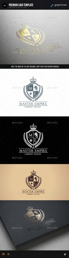 Master Empire  EPS Logo Template • Download ↓ https://graphicriver.net/item/master-empire-/12043077?ref=pxcr