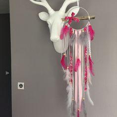 attrape rves dreamcatcher en dentelle liberty et plumes dcoration pour enfants par
