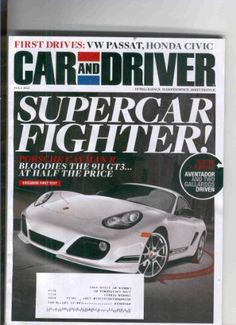 Car & Driver Magazine July 2011 « Library User Group