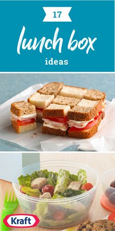 17 Lunch Box Ideas – For back-to-school inspiration, expand on the standard PB&J and think outside the lunchbox with these creative ideas. Browse our kid-friendly recipe collection so many creative dishes your kids are sure to enjoy.