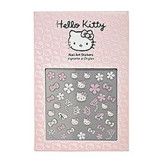 Hello Kitty Nail Art Stickers in Modern Icon