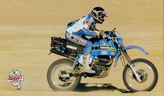 Serge bacou Dakar 1982.