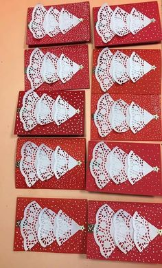Learn How to Make Easy Simple Handmade Christmas Cards – Christmas DIY Holiday Cards Kids Crafts, Christmas Crafts For Kids To Make, Christmas Card Crafts, Christmas Tree Cards, Preschool Christmas, Christmas Activities, Homemade Christmas, Xmas Cards, Christmas Art