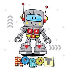 Cute Cartoon Robot Illustration Vector Vector and PNG Robot Vector, Robot Clipart, Vector Art, Vector File, Android Art, Android Design, Android Hacks, Wallpapers Android, Bebe