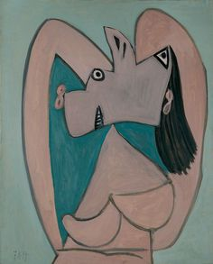 Pablo Picasso (1881-1973) Bust of a Woman with Arms Crossed Behind her Head, 7 November 1939 Museo Picasso Málaga