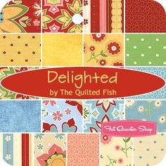 delighted fabric