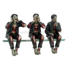 Walking Dead Zombie Undead See Hear Speak No Evil Set of Shelf Sitters Computer Top Statue Figurines PACIFIC GIFTWARE,http://www.amazon.com/dp/B00B3ZF6K0/ref=cm_sw_r_pi_dp_7l9Lsb0QWBC6WV3B
