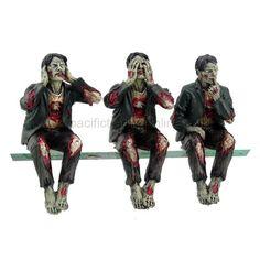 Walking Dead Zombie Undead See Hear Speak No Evil Set of Shelf Sitters Computer Top Statue Figurines PACIFIC GIFTWARE,http://www.amazon.com/dp/B00B3ZF6K0/ref=cm_sw_r_pi_dp_7l9Lsb0QWBC6WV3B