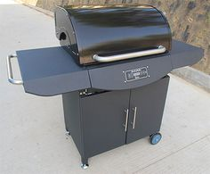 """24"""" Pro PC Pellet Grill With Cabinet"""