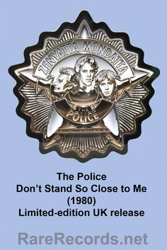 The Police - Don't Stand So Close to Me Limited edition picture disc single from the UK. #vinyl #records #picturedisc