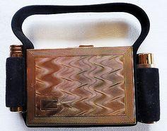 Vintage Kigu 'Combination Party Case' compact - in original packaging - 1960s | eBay