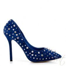 Dámské modré lodičky DRIU #shoes #pumps #fashion