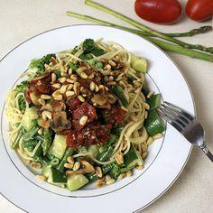 Pasta Primavera (Spaghetti Primavera) Recipe » Cooking by the seat of our pants