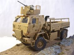 Trumpeter 1/35 scale M1078 with armored cab
