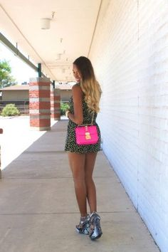 Romper Style x Wedges || Cocofashionista.com
