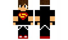 minecraft skin Super boy