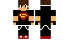 minecraft skin Super boy