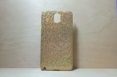 Glitter Case for Samsung Galaxy Note 3 Gold by shirleycatwong, $3.00 USD
