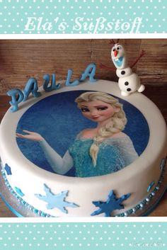 #Frozen #Eiskönigin # Elsa # Olaf # Torte # Cake # Cakedesign
