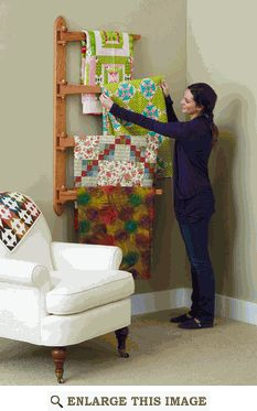 More Quilt Rack Information