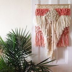 CUSTOM weaving for Caroline Eppright woven wall by MaryanneMoodie