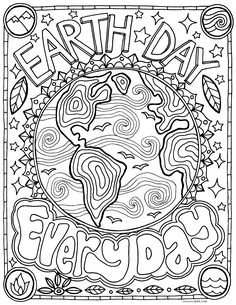 Earth Day Coloring Pages Coloring Ideas Freerintable Earth Day Coloringages And Activities. Earth Day Coloring Pages Top 20 Free Printable Earth Day C. Earth Day Coloring Pages, Flower Coloring Pages, Coloring Book Pages, Coloring Pages For Kids, Coloring Sheets, Fairy Coloring, Kids Coloring, Earth Day Projects, Earth Day Crafts