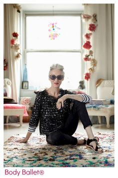 Beauty, health and well-being with Body Ballet® ©Linda Rodin - New York fashion stylist
