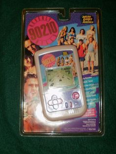 MGA BEVERLY HILLS 90210 HAND HELD LCD GAME SEALED MICRO GAMES OF AMERICA Beverly Hils, Beverly Hills 90210, Best Tv, Nintendo Consoles, Action Figures, Hold On, Video Games, Weird, Gaming