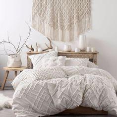 BRAND NEW Linen House Sanura White Duvet Doona Quilt Cover Set Cotton | Home & Garden, Bedding, Quilt Covers | eBay! #BedLinen