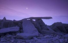 Moon over Cantilever Stone, Glyder Fach, Snowdonia, north Wales Cool Pictures, Cool Photos, Amazing Photos, Great Places, Places To Visit, Snowdonia, North Wales, Nature Images, Adventure Travel