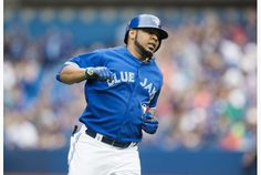 Toronto Blue Jays' Edwin Encarnacion named American League player of the week on Monday, August 31.