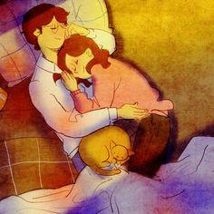 Dormi stanotte sul mio cuore  ❤...Gabriele D'Annunzio