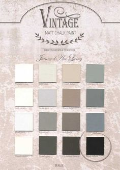 in the middle of the street. Paint Color Schemes, Interior Paint Colors, French Country Decorating, Vintage Colors, House Painting, House Colors, Chalk Paint, Home Deco, Color Inspiration