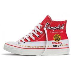 Converse All Star Ct As Hi Andy Warhol Vermelho/Branco