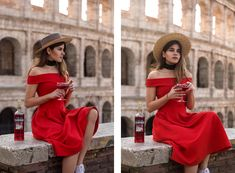 """""""Killer in Red"""" that's exactly how I felt when I was in Rome for the premiere of the same-named short film from Campari and slipped into the red off the shoulder dresschanneling my innerfemme fatale. """"Killer in Red?""""with a likeable Italien accent (it's not fair that my Swiss accent in English sounds sogruesome while the Italian one is so chic!) Read More"""