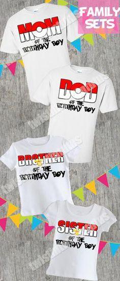 Pokemon Family Birthday Shirts | Pokemon Birthday Shirt | Pokemon Birthday Party Ideas | Pokemon Party Ideas | Birthday Party Ideas for Boys | Twistin Twirlin Tutus #pokemonbirthday