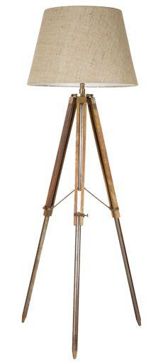 LIghtstyles Mariner Tripod Floor Lamp Holder - Large