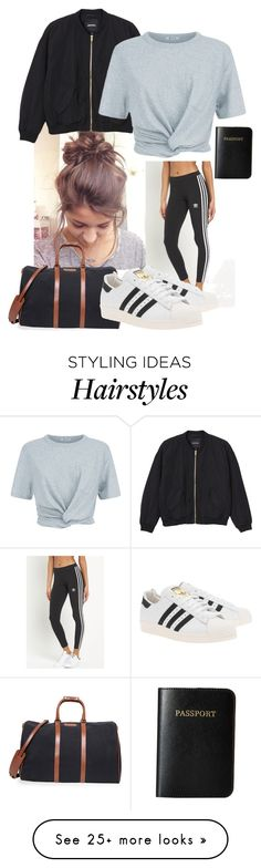 """""""Let's travel the world"""" by chupachups3 on Polyvore featuring adidas Originals…"""