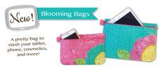 Blooming Bag In the Hoop Machine Embroidery Design