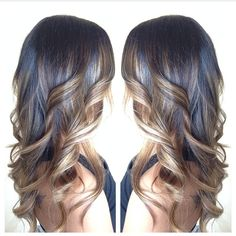 Bayalage hair color