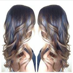 Bayalage hair color