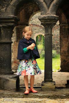 Project Run & Play: upcycling voor de herfst - nog tot donderdagavond de tijd om te stemmen op je favoriete outfit