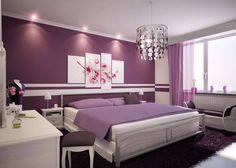 purple bedroom designs