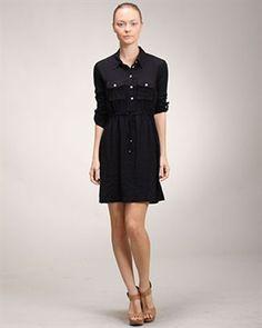 9 to 5 Shirtdress - $49