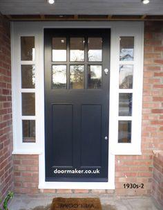 1930s style door