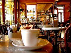 """Caffè Meletti.  Ascoli Piceno, Marche, Italy.  * We had our first """"Olives Ascolana"""" in this stunning café in Ascoli Piceno!  Belisimo!! located on Piazza del Popolo!  / 2009"""
